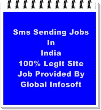 sms jobs,sms sending jobs without registeration,legit part time jobs in india