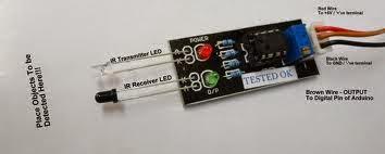 10 x TCRT5000L TCRT5000 Reflective Optical Sensor