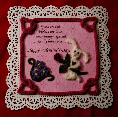 Knifty Knitter Spool Loom Valentine