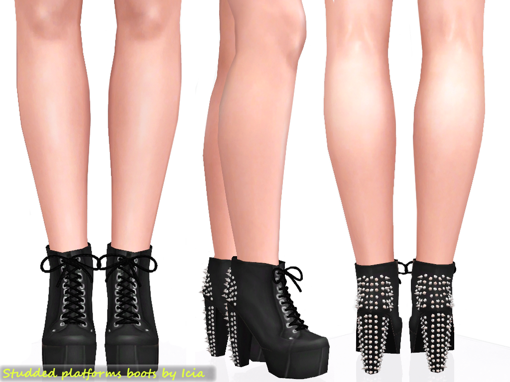 Shoes / Heels Spike+litas+black