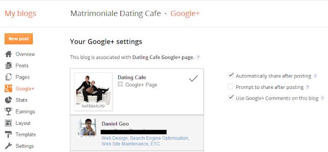Cum sa publici articolele Blogger automat pe pagina Google Plus