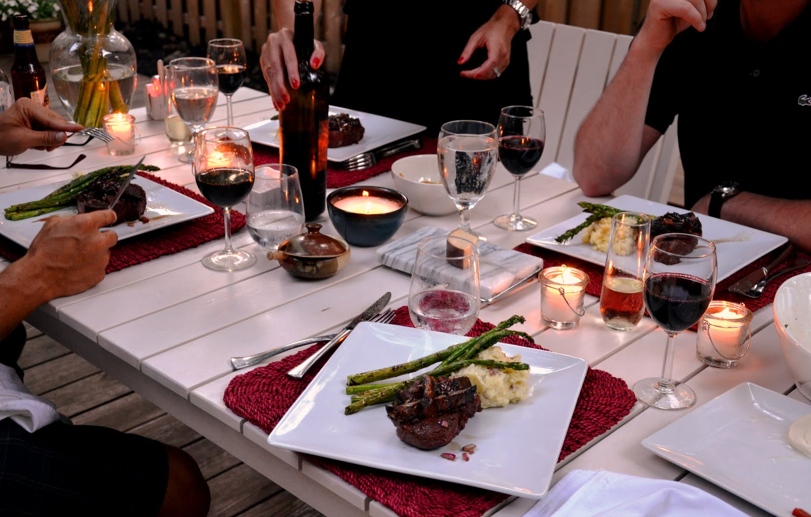 a dinner party Dinner party #dinnerpartyvr contact us.