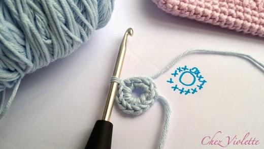 Tuto Etui de téléphone portable au crochet - Crochet Phone case DIY Pattern - Chez Violette