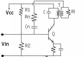 circuit diagram tuned amplifier