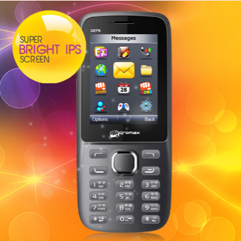 Micromax X279 dual SIM mobile latest review, specifications, latest price in India