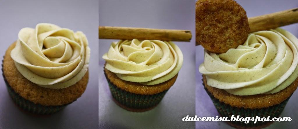 cupcake, torrijas, semana Santa, dulcemisu, canela