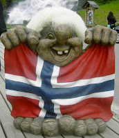 "For once, a ""cute"" Norwegian Troll"