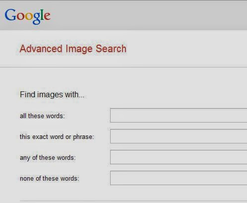 Advanced Image Search tool