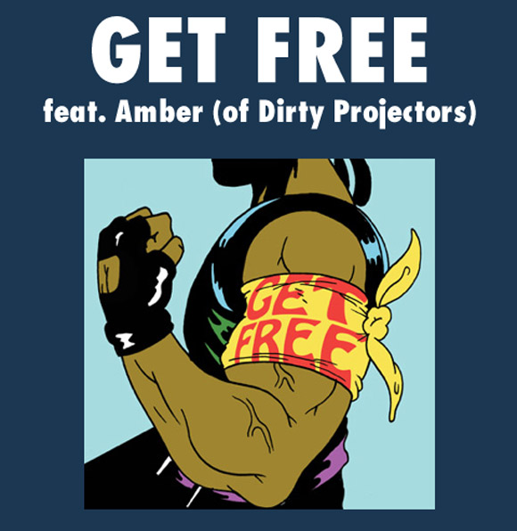 Major Lazer - Get Free (feat. Dirty Projectors' Amber Coffman)