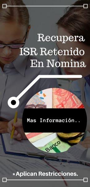 Devolucion ISR