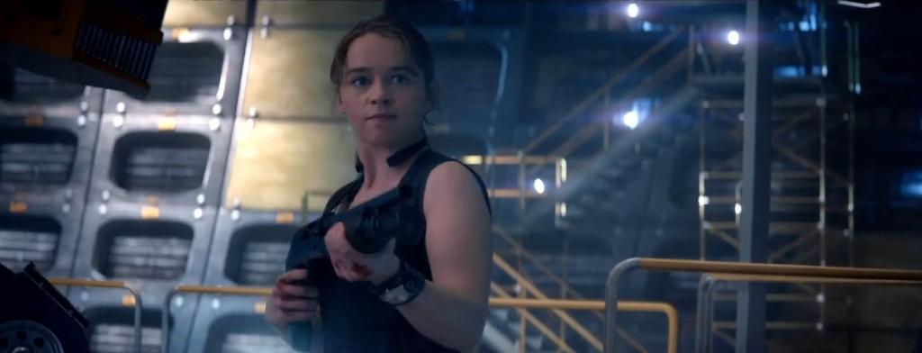 Emilia Clarke Terminator Body