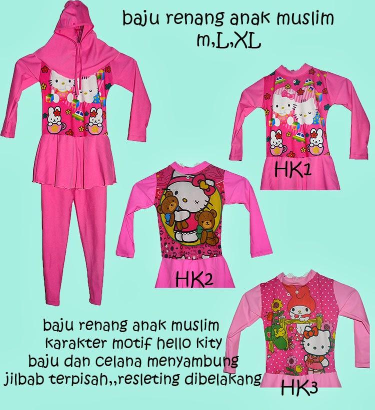 Muslim Onlinestore Baju Renang Anak Muslim Karakter Motif
