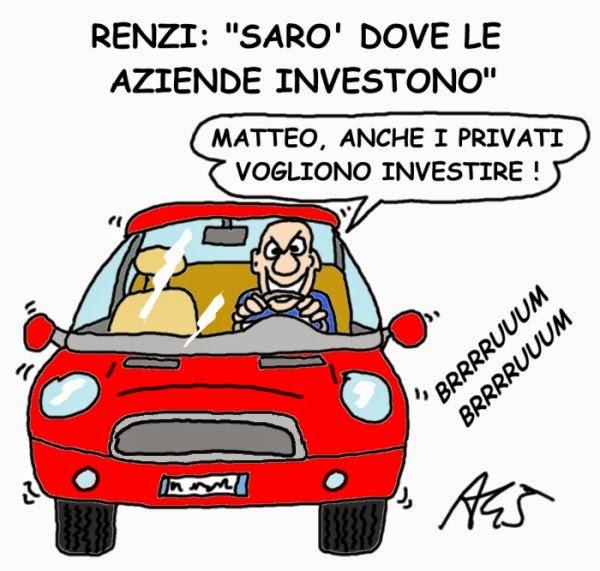 Renzi, investimenti