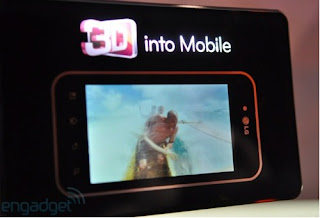 LG 3D smartphone