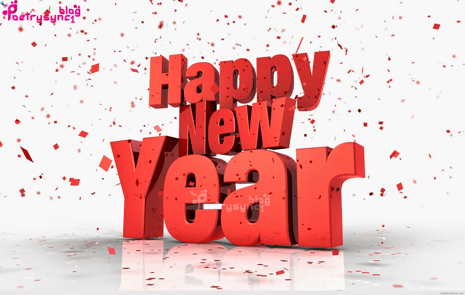 3d happy new year wallpaper sms greetings images