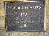 Plaque at Union Cemetery, Oshawa, Ontario, Canada. Photo Credit: © Catherine McDiarmid-Watt