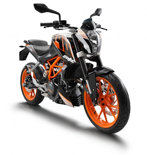 KTM 390 Duke was launched on 25 June in Pune, India.