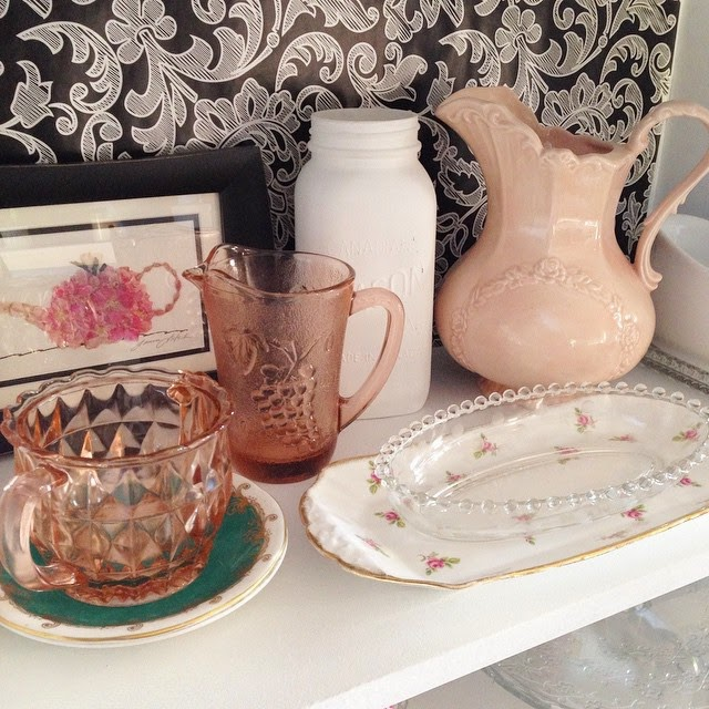 #thriftscorethursday Week 49 | Instagram user: thelearnerobserver shows off this Classic Glass Pieces