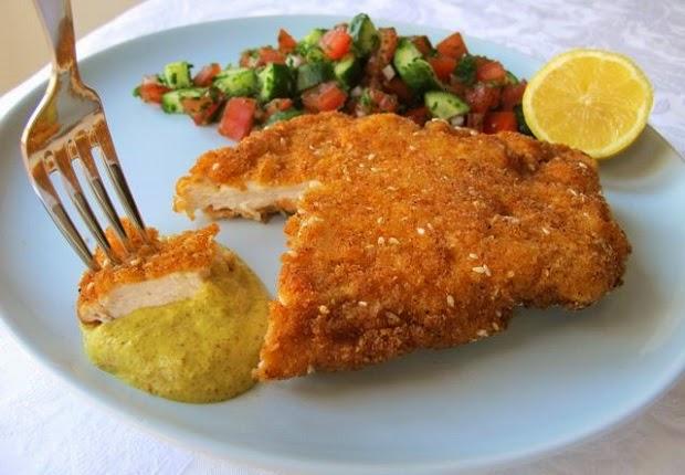 Σνίτσελ κοτόπουλο - Συνταγή
