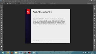 Screenshot Adobe Photoshop CC 14.0.1