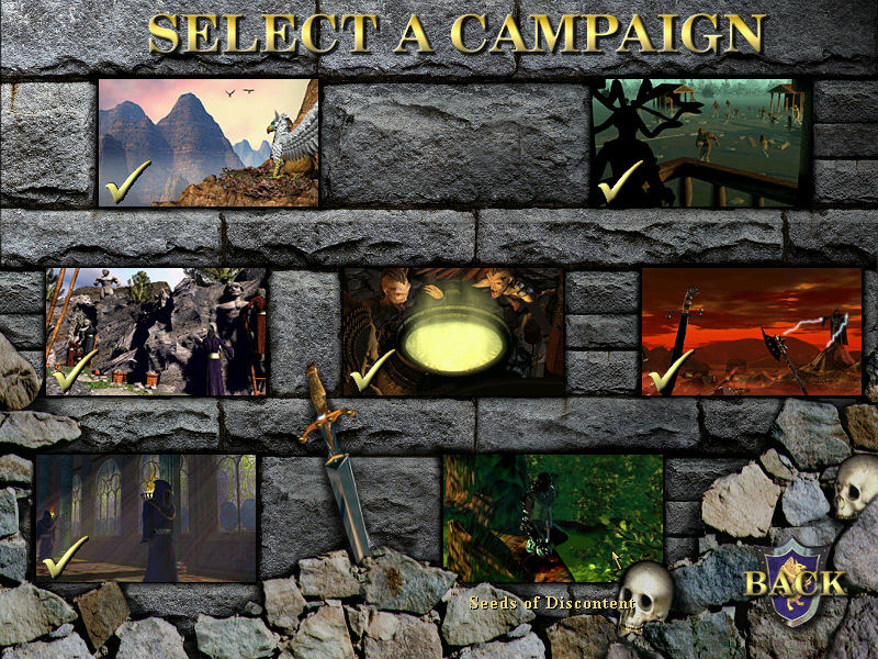 heroes of might and magic iii contains a secret seventh campaign that appears after completing the main restoration of erathia storyline