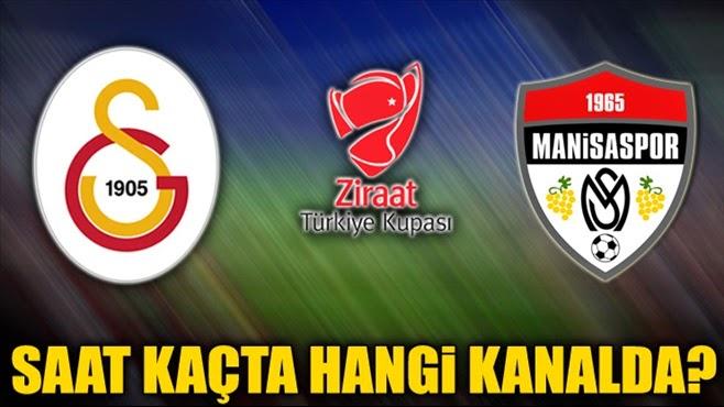 Galatasaray - Manisaspor maçı canlı ATV de