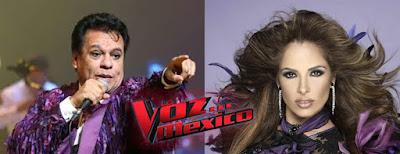 Gloria Trevi y Juan Gabriel Coachs de La Voz México