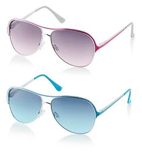 pink blue steve madden sunglasses