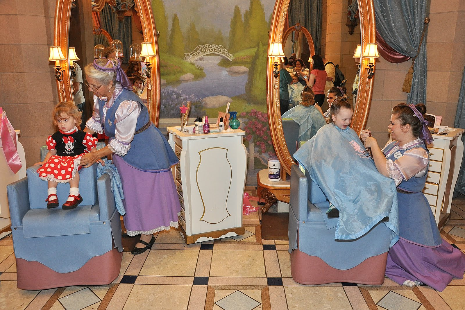 The cullinan family bibbidi bobbidi boutique for World boutique