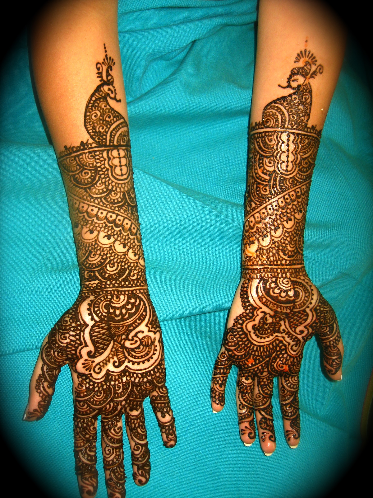 Mehndi Bride S : Beautiful eid collection for girls best mehndi designs