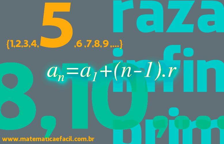 Lista de exercícios de Progressão Aritmética – P.A.