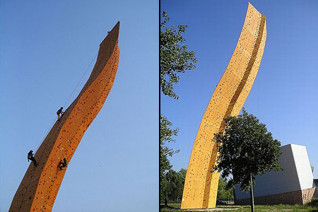 Highest Climbing Wall in the World Photo