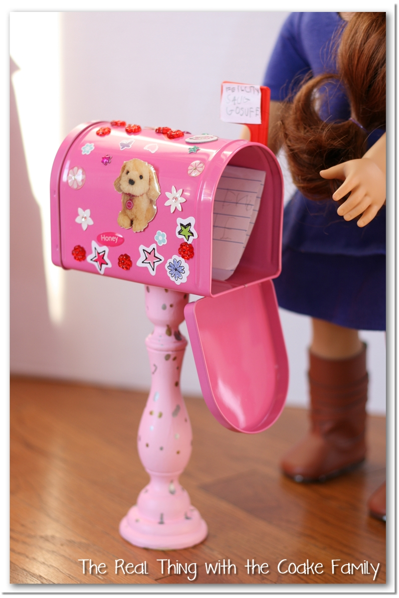 american girl craft valentine mailboxes