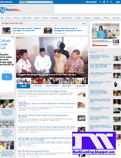 situs portal berita paling terkenal tribunnews.com