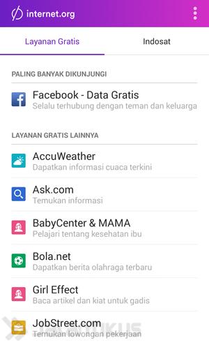 Cara Mengakses Facebook Secara Gratis di Smartphone