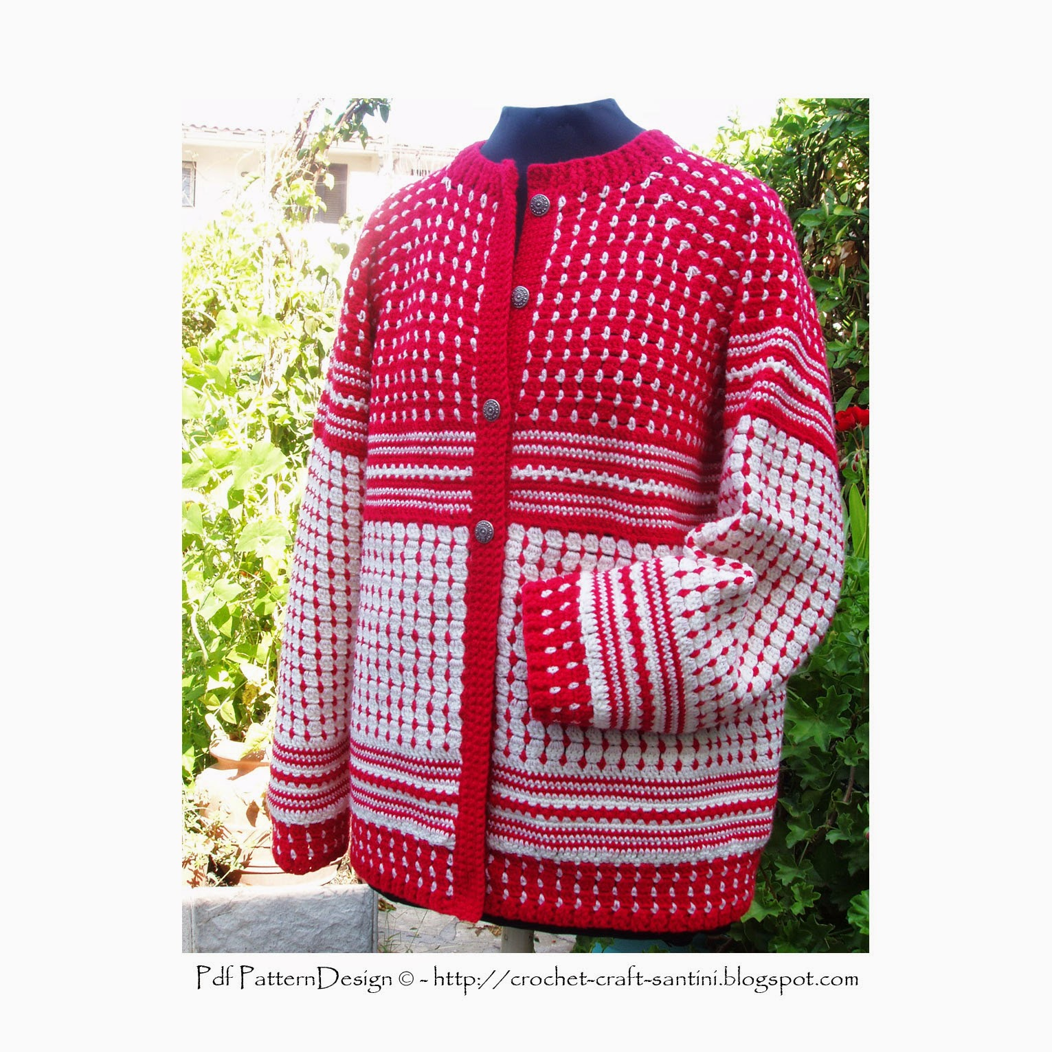 Norwegian Sweater Knitting Patterns : Sophie and Me: TRADITIONAL NORWEGIAN SWEATER - IN CROCHET!