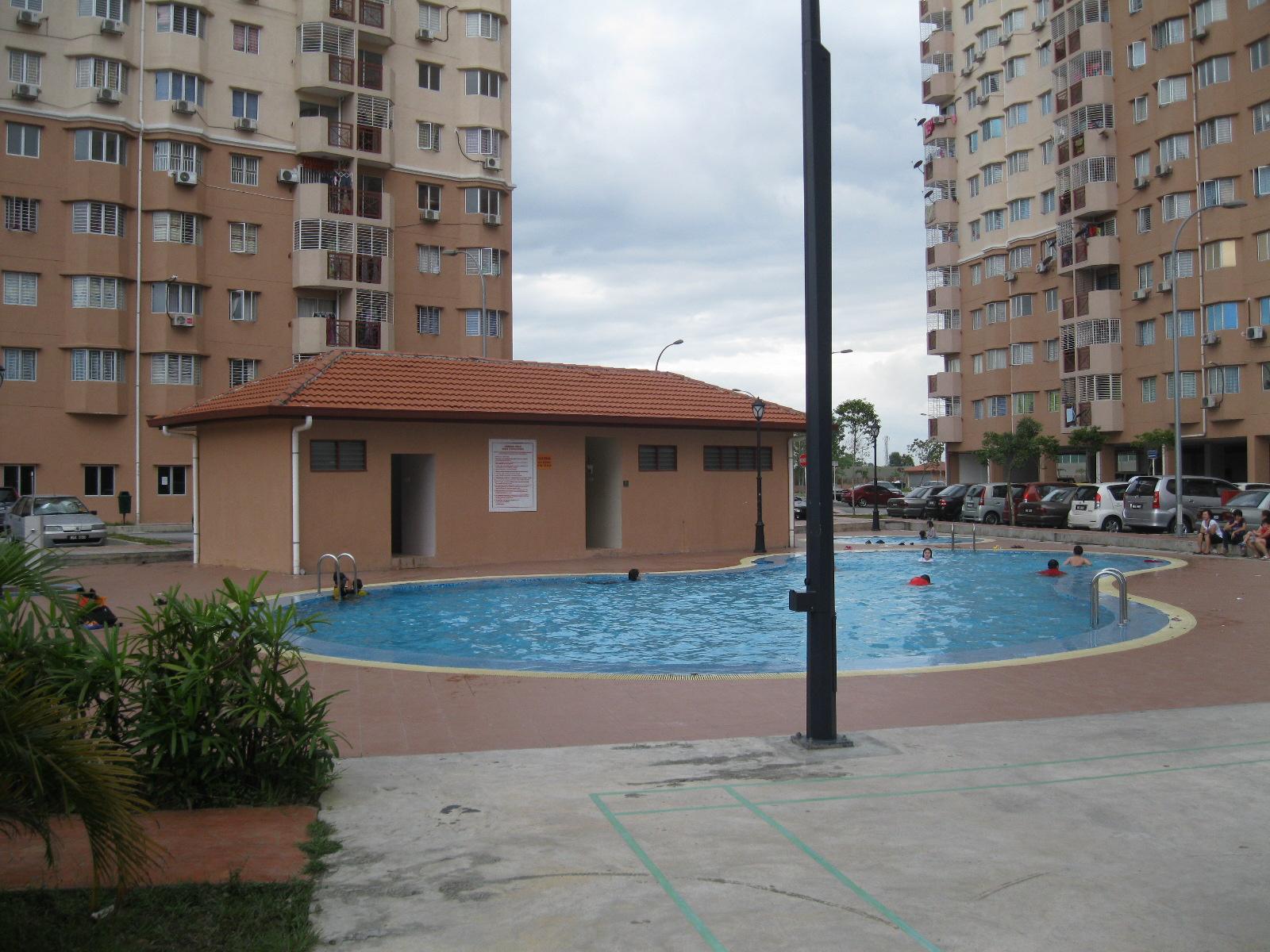Blog Rumah Kosong  Apartment Damai  Subang Bestari U4
