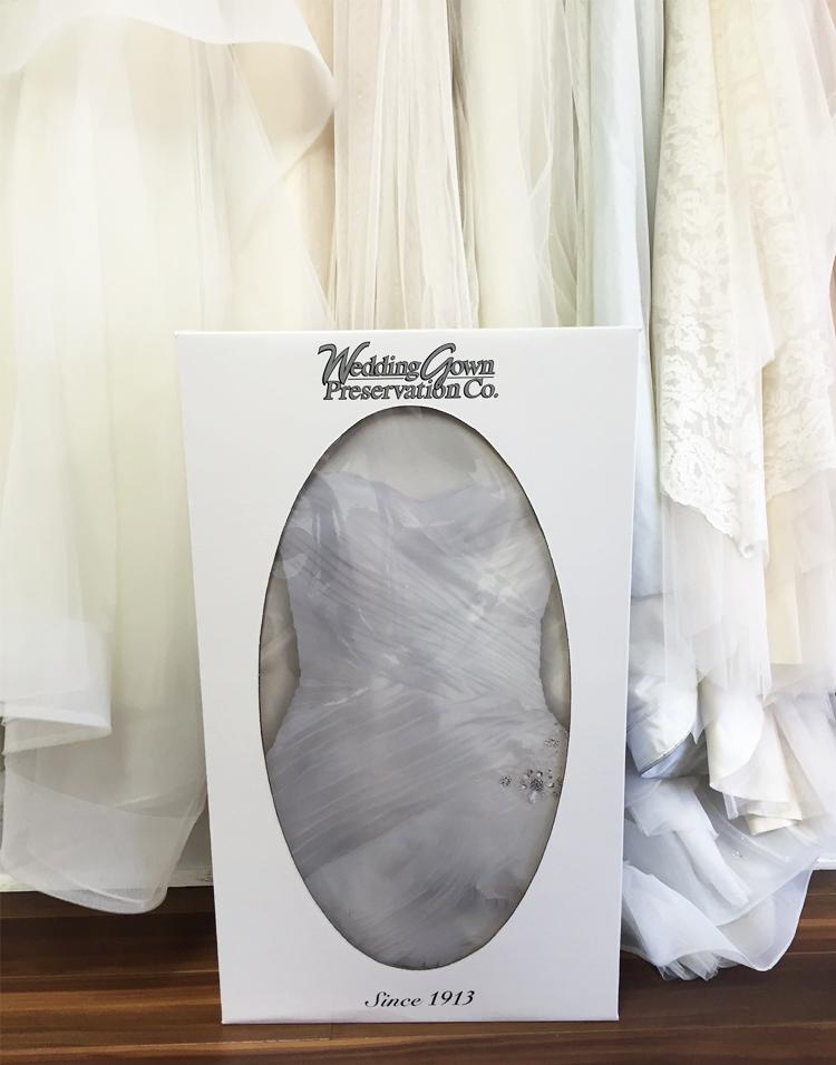 Wedding dress preservation kit wedding dress collections for Wedding dress preservation chicago