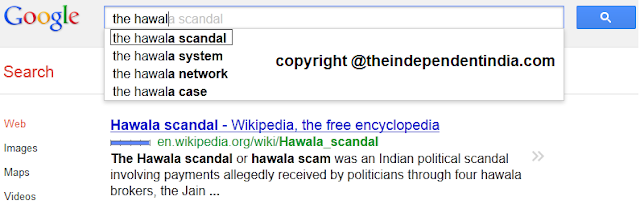 hawala scandal on google