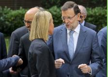 "Rajoy: ""La grave crisis que desangra Libia"" es un problema para Europa."