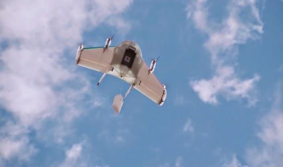 Google Project Wing, επιστρατεύει drones που θα κάνουν delivery [video]