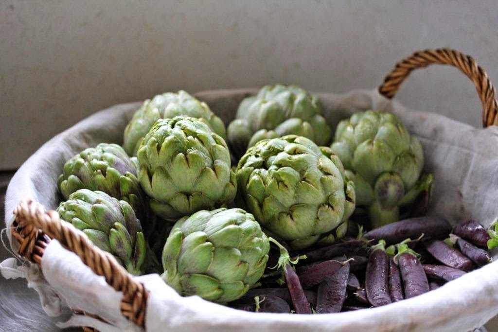 Artichokes and Peas