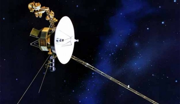 Voyager I Leaves the Solar System