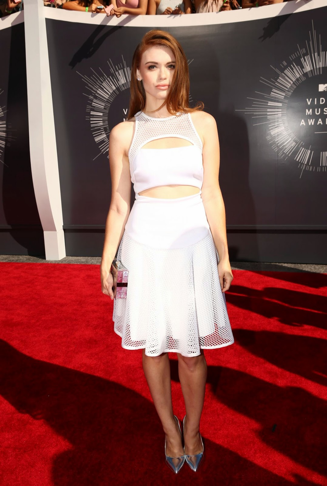 Holland Roden – 2014 MTV Video Music Awards in Inglewood #VMA