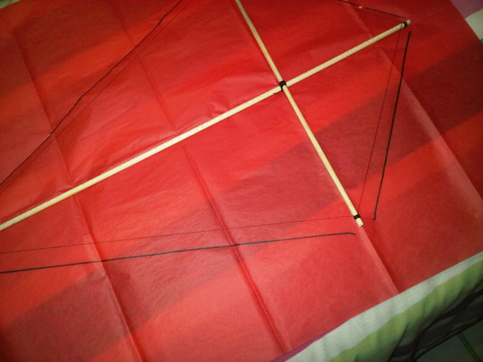 Como hacer un papagayo de estrella facil el taller de - Como hacer una cometa paso a paso ...