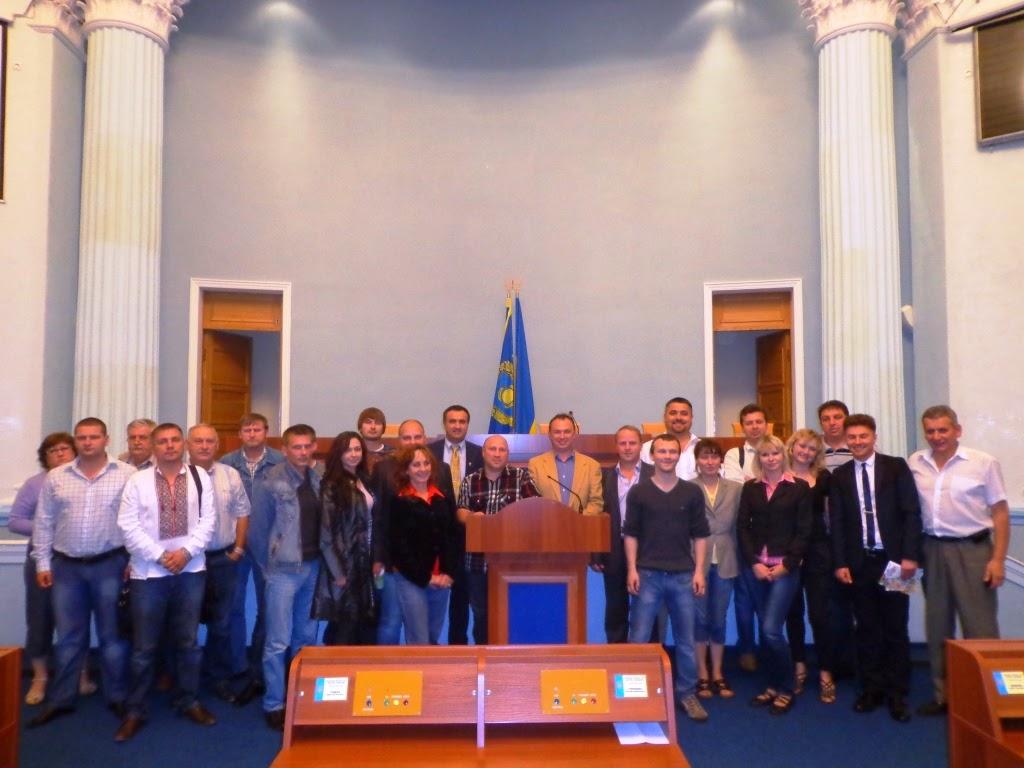 Громадська рада при Черкаській ОДА та облараді