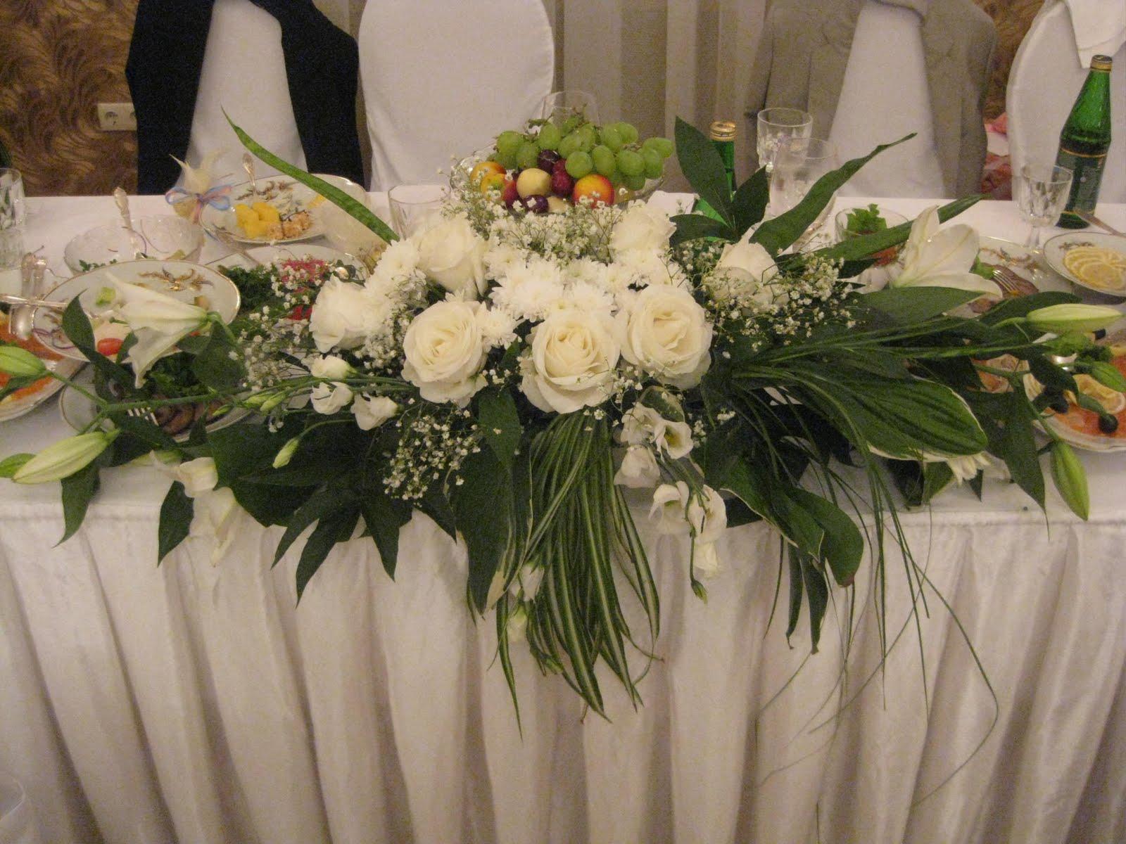 Оформление свадебного своими руками