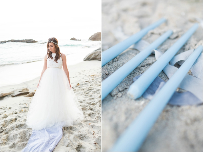 Intimate Laguna Beach Seaside Elopement by Natalie Schutt Photography
