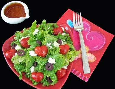salata inimioara valentines day