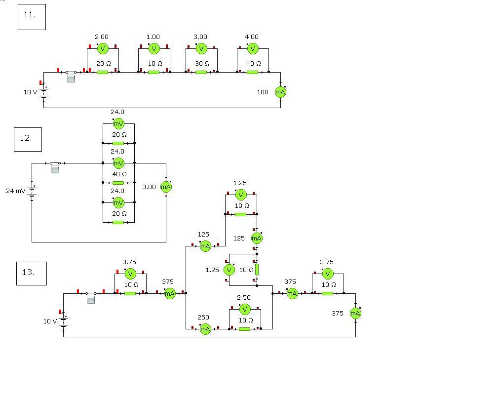 Circuito Seri E Paralelo : Anxo tecno ºb circuitos serie paralelo mixto examen